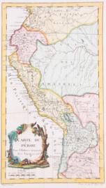 Kaart Peru.