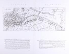 Town plan of Schiedam.