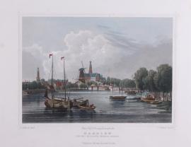 Stadsgezicht op Haarlem.