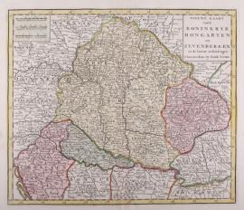 Kaart Hongarije