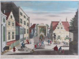 Stadsgezicht van Den Haag.