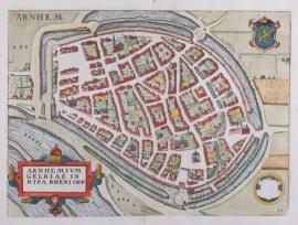 Plattegrond Arnhem