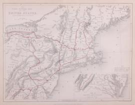 Kaart Verenigde Staten