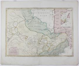 Kaart van Canada