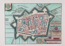 Plattegrond van Leeuwarden