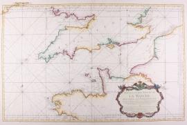 Zeekaart Kanaal.