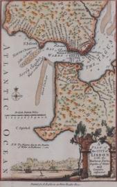 Kaart Portugal.