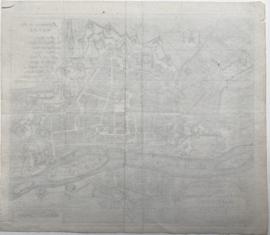 Plattegrond Maastricht.