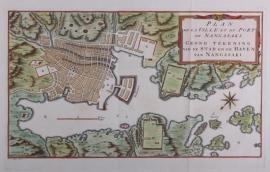 Town plan of Nagasaki