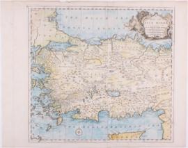 Kaart Turkije