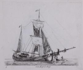 Een Kofschip.
