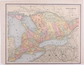 Plattegrond Quebec/ Ontario