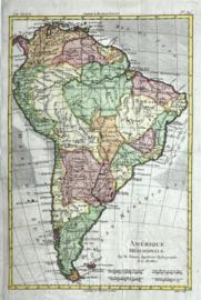 Kaart Zuid -Amerika