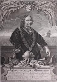 Portret Jan Cornelisz Meppel.