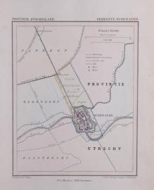 Gemeente kaartje Oudewater