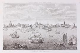 Panorama van Vlissingen.