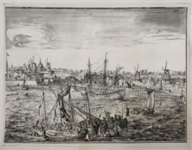 Deel panorama Rotterdam
