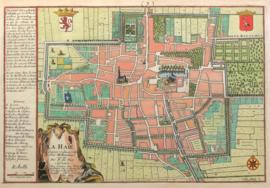 Plattegrond Den Haag.