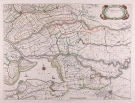 Kaart Zuidhollandia