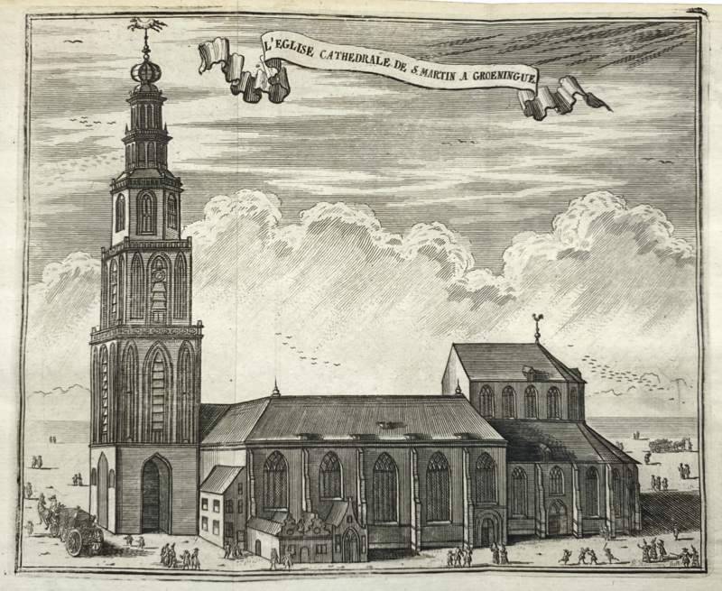 Martini Kerk Groningen.