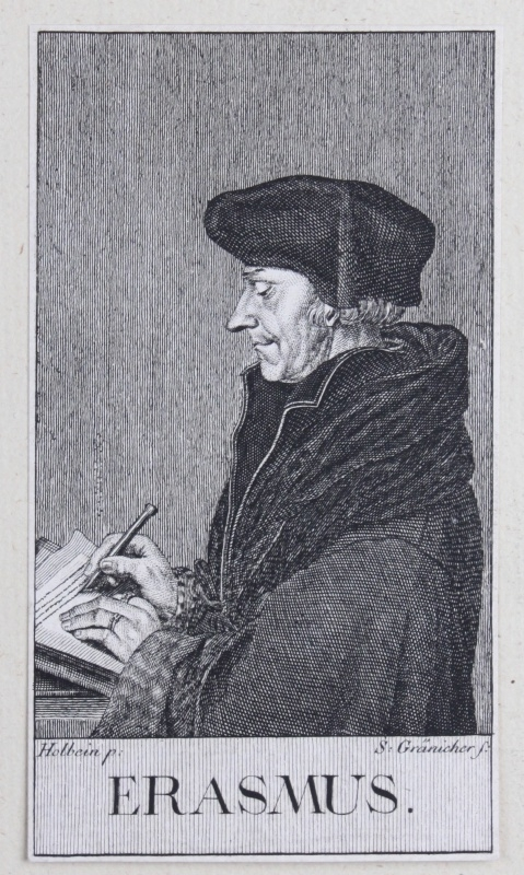 Portret van Erasmus.