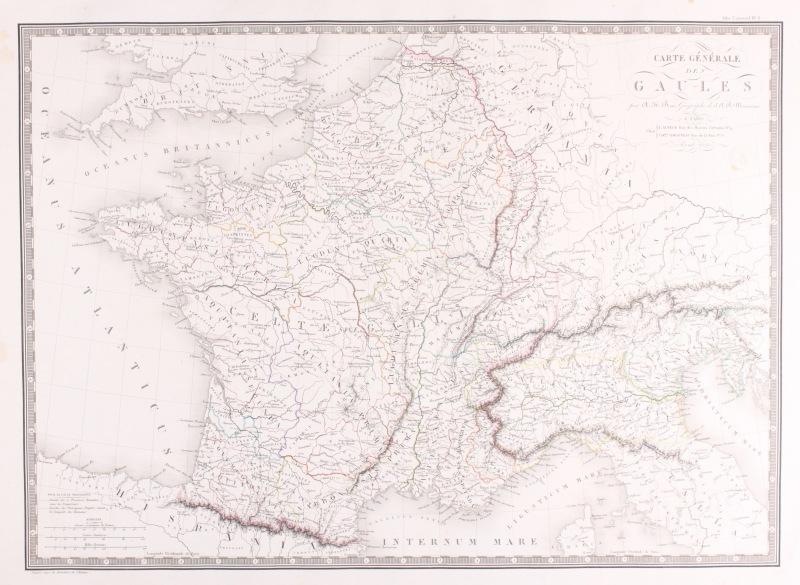 Kaart Frankrijk