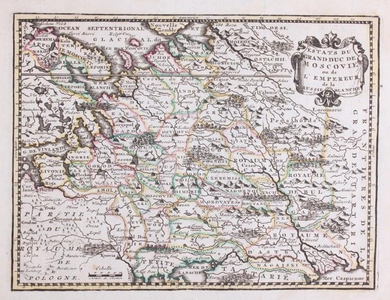 Kaart Rusland