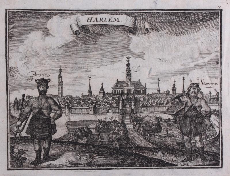 Panorama of Haarlem.