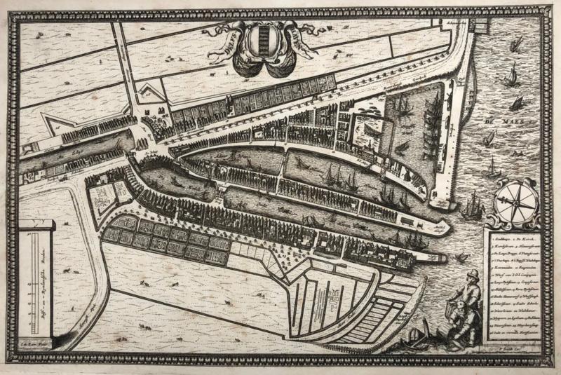 Plattegrond Delfshaven.