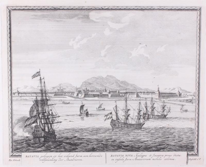 Panorama van Batavia