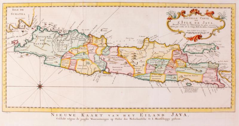 Kaart Indonesië Java