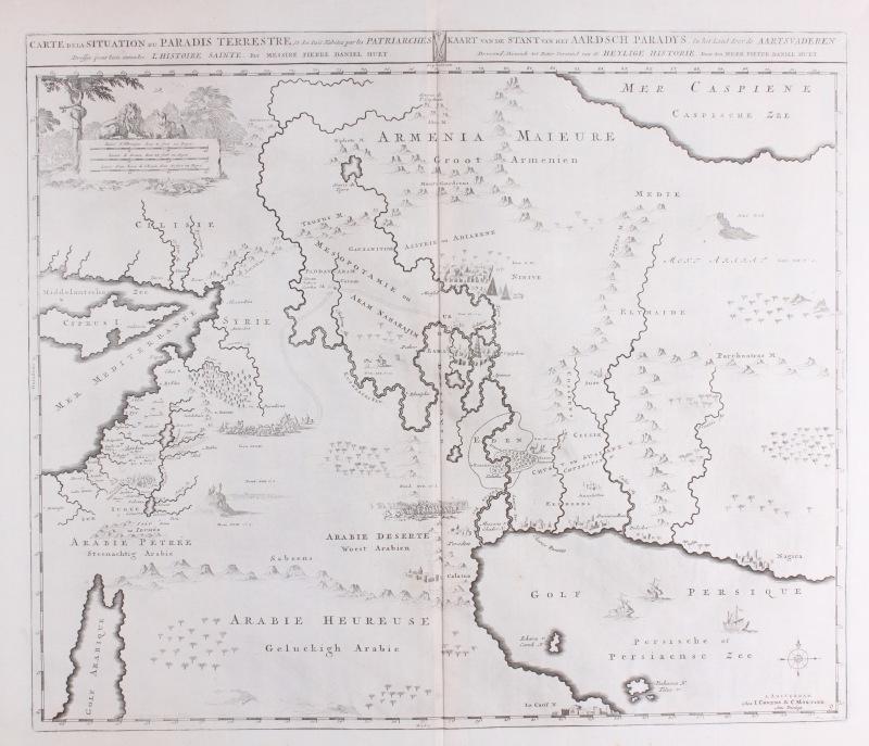 Kaart Middenoosten