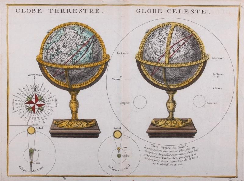 Kaart Globe