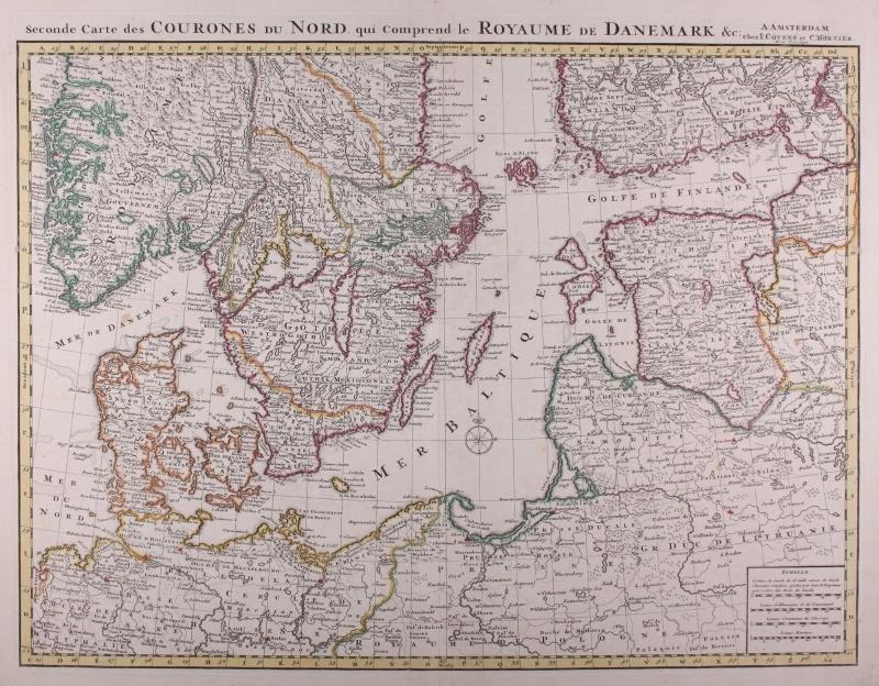 Kaart Denemarken