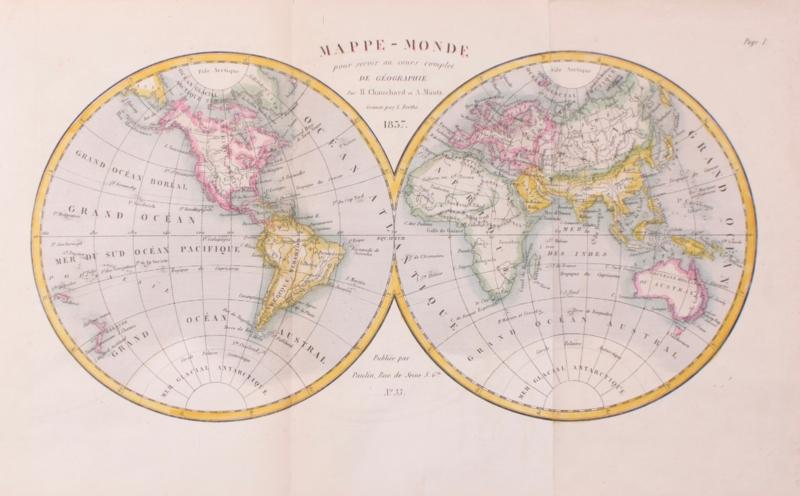 Wereldkaart.