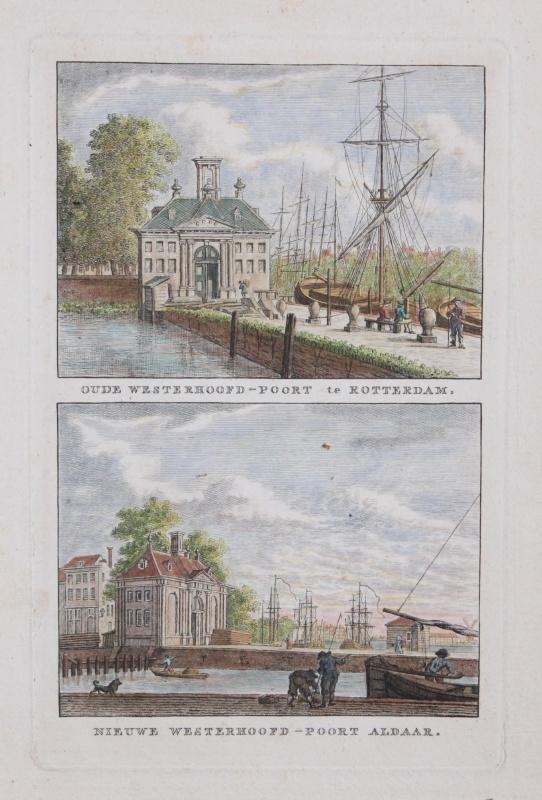 Stadsgezicht van Rotterdam.