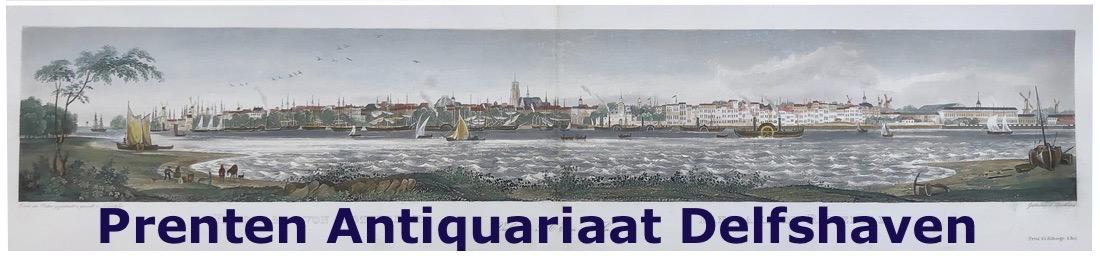 """Prenten Antiquariaat """"Delfshaven"""""""