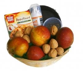 Fruitmand Appeltaart