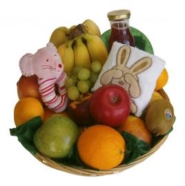 Fruitmand Geboorte Meisje