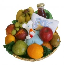 Fruitmand Geboorte Jongen