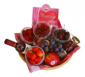 Fruitmand Valentijn
