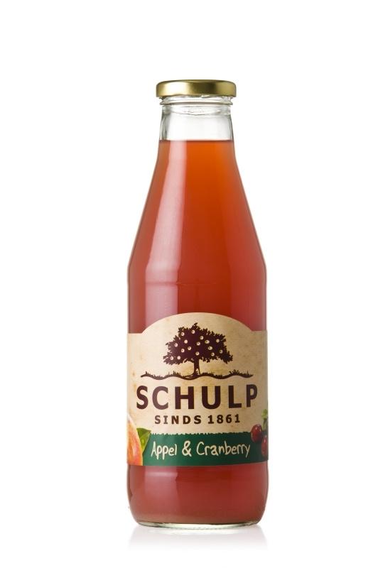 Appel & Cranberrysap Groot