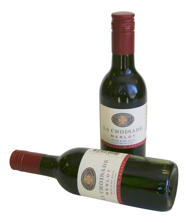 Flesje Wijn Rood