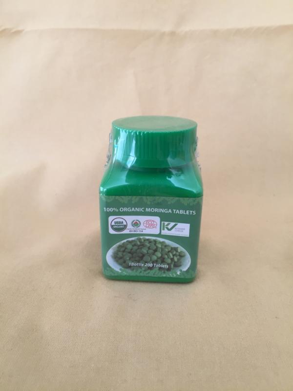 Moringa tabletten - 200 stuks