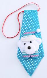 Kerstbeer stropdas