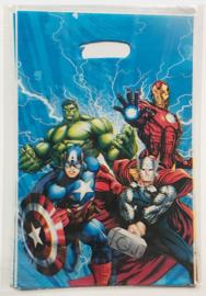 Avengers traktatie zakjes (10 stuks)