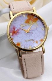 Floral horloge