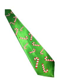 Kerst stropdas (groen)