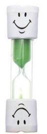 Zandloper voor het tandenpoetsen (groen)