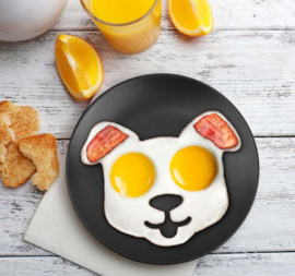 Puppy bakvorm voor gebakken ei